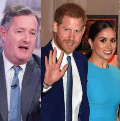 Piers Morgan slams Prince Harry and Meghan Markle for their Netflix deal