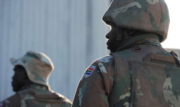 South African soldier charged with attempted murder for
