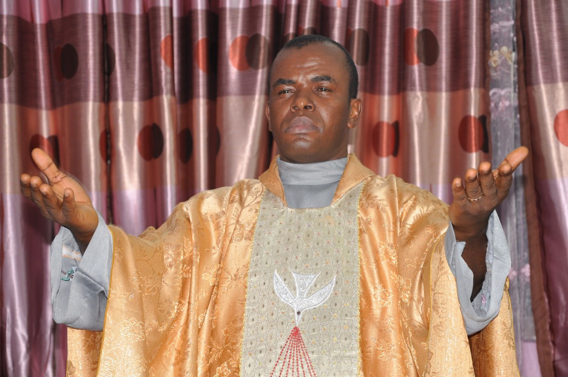 Father Mbaka talks about a female BBNaija housemate (Video)