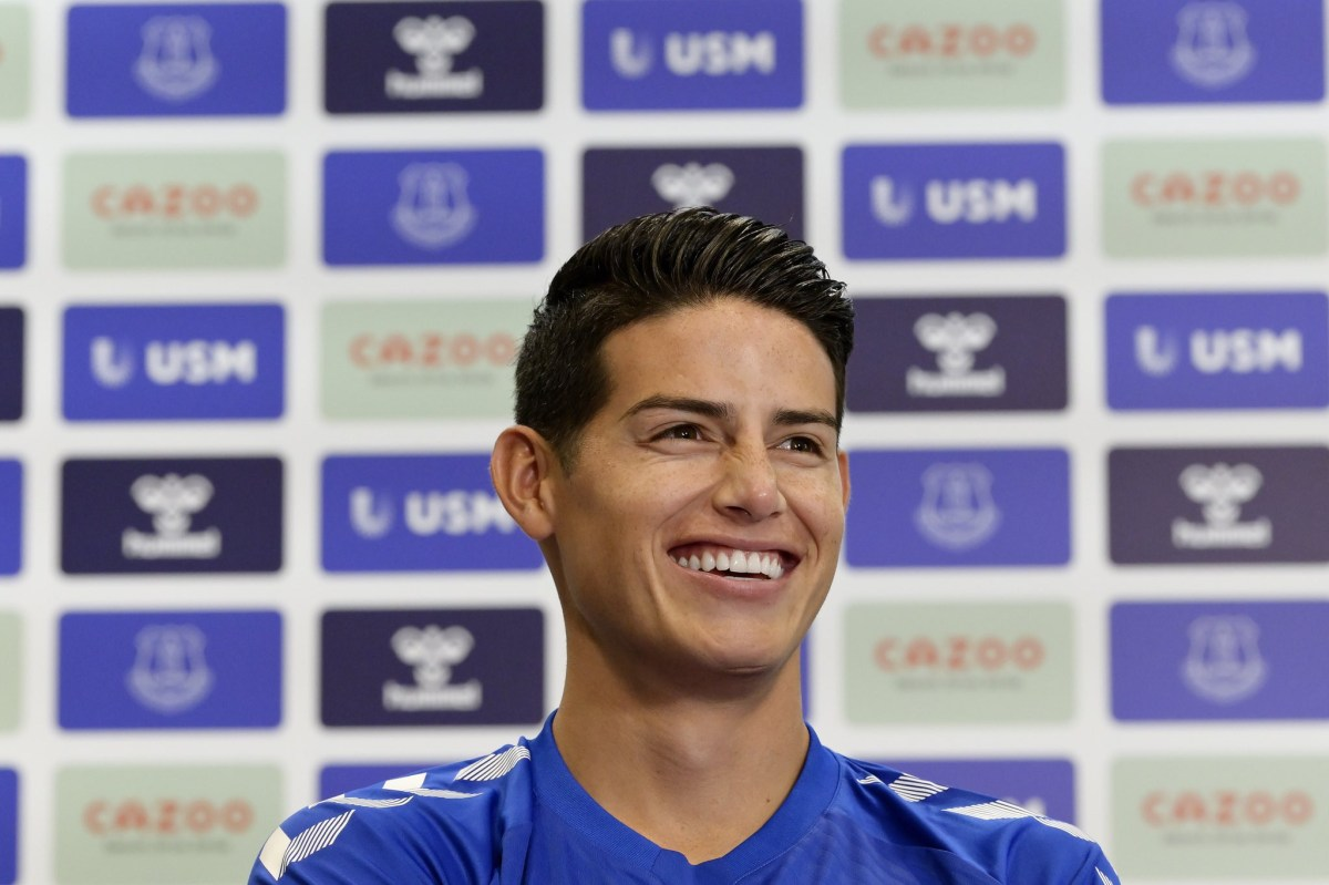 Everton confirm ?20m signing of James Rodriguez from Real Madrid