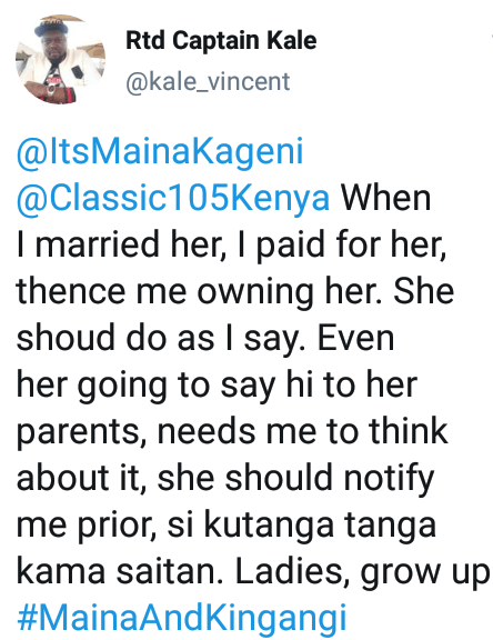 """""""I paid her dowry hence I own her - Controversial Kenyan Twitter personality says women shouldn"""