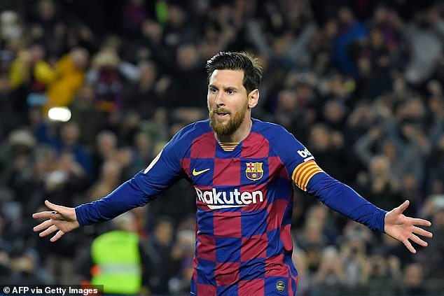 Lionel Messi becomes football