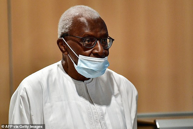 Former World Athletics boss, Lamine Diack is jailed for two years and fined ?500k after being found guilty of corruption in Russian doping scandal