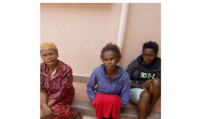 62-year-old woman and her daughters arrested for allegedly stealing a baby