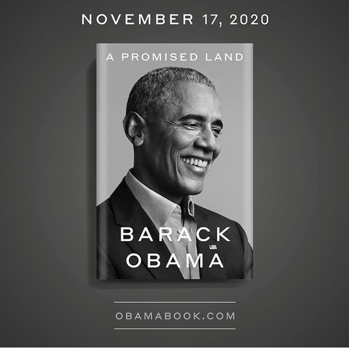 Barack Obama announces his new memoir, A Promised Land, will be out in November 2020