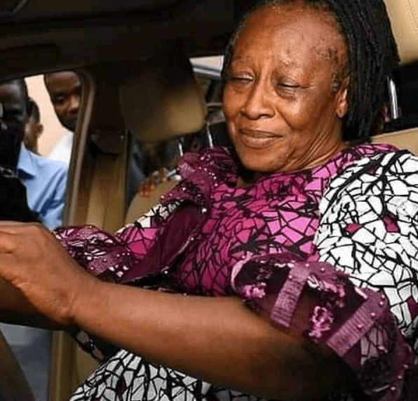 Patience Ozokwor receives car as birthday gift from her children