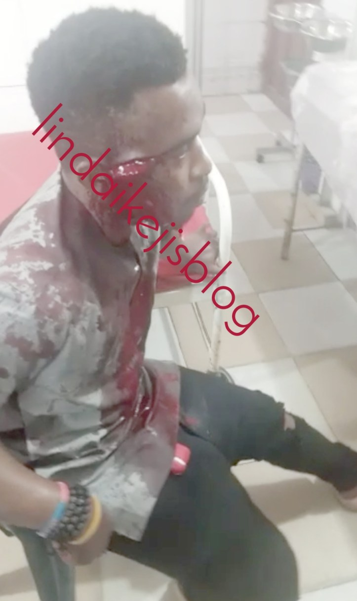 Car snatchers arrested in Lagos after stabbing Uber driver and snatching his car (video)
