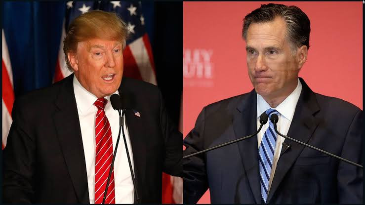 Big blow to Democrats as anti-Trump Senator Mitt Romney, reveals he will vote in favour of Trump appointed Supreme court nominee before election