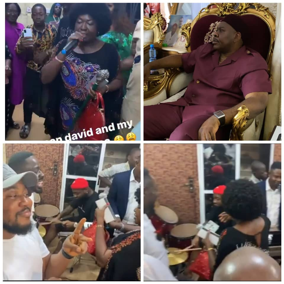 Davido shows off his drumming skills during a Praise and Worship session in Delta (video)