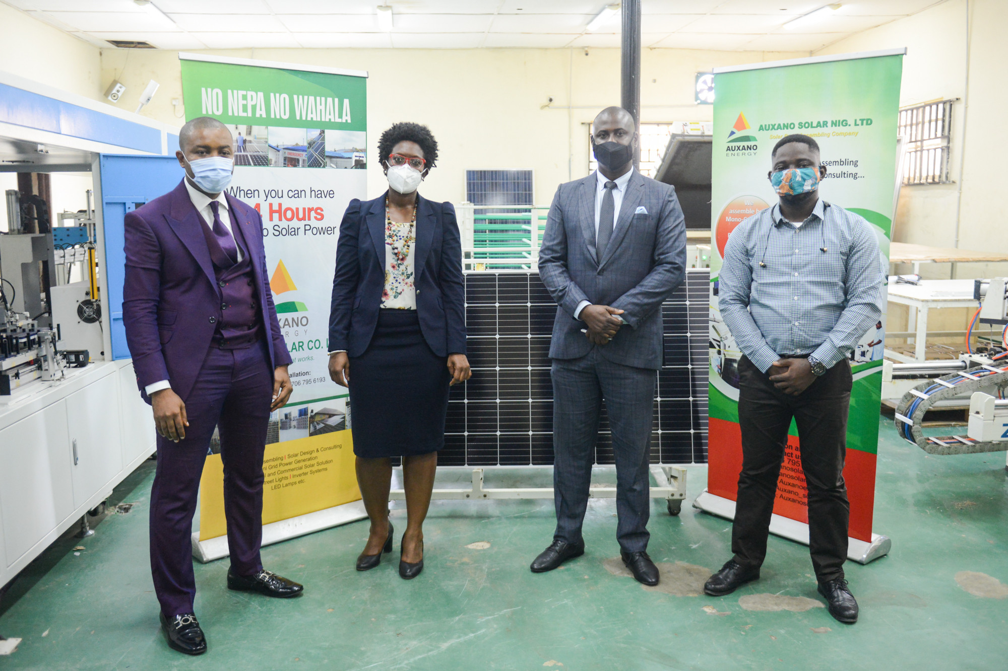All On and Auxano Solar Nigeria Sign $1.5m Investment Deal for Solar Panel Assembly Plant Expansion