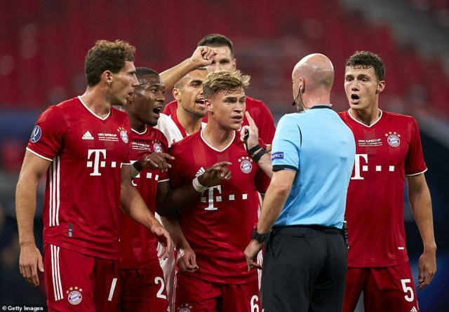 Bayern Munich beat Sevilla to win UEFA Super Cup (Photos)