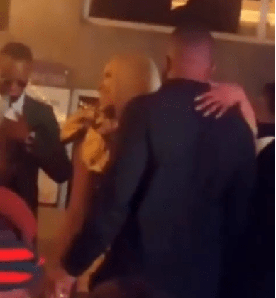 Kiddwaya and Erica pack on the PDA at Mercy Eke's party (Video)