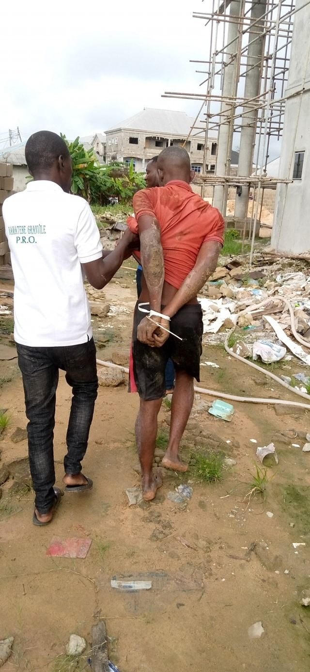 Notorious criminal terrorizing Yenagoa communities nabbed after snatching phone