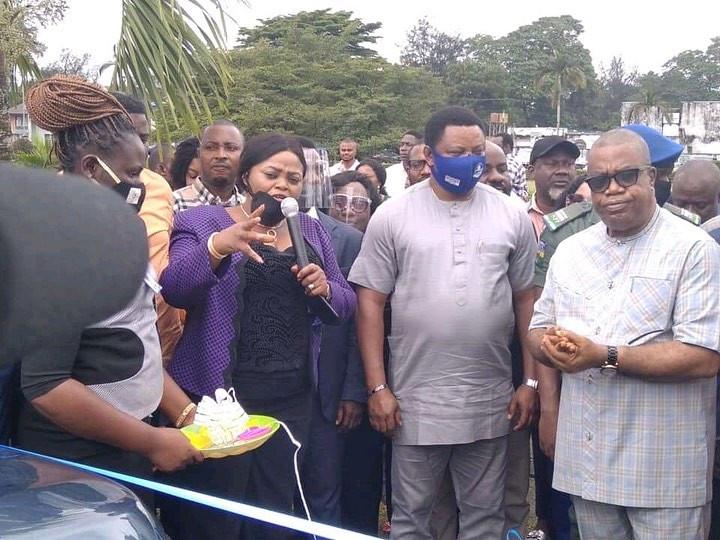 Governor Ayade presents 54 brand new SUVs to Local Govt Chairmen, deputies