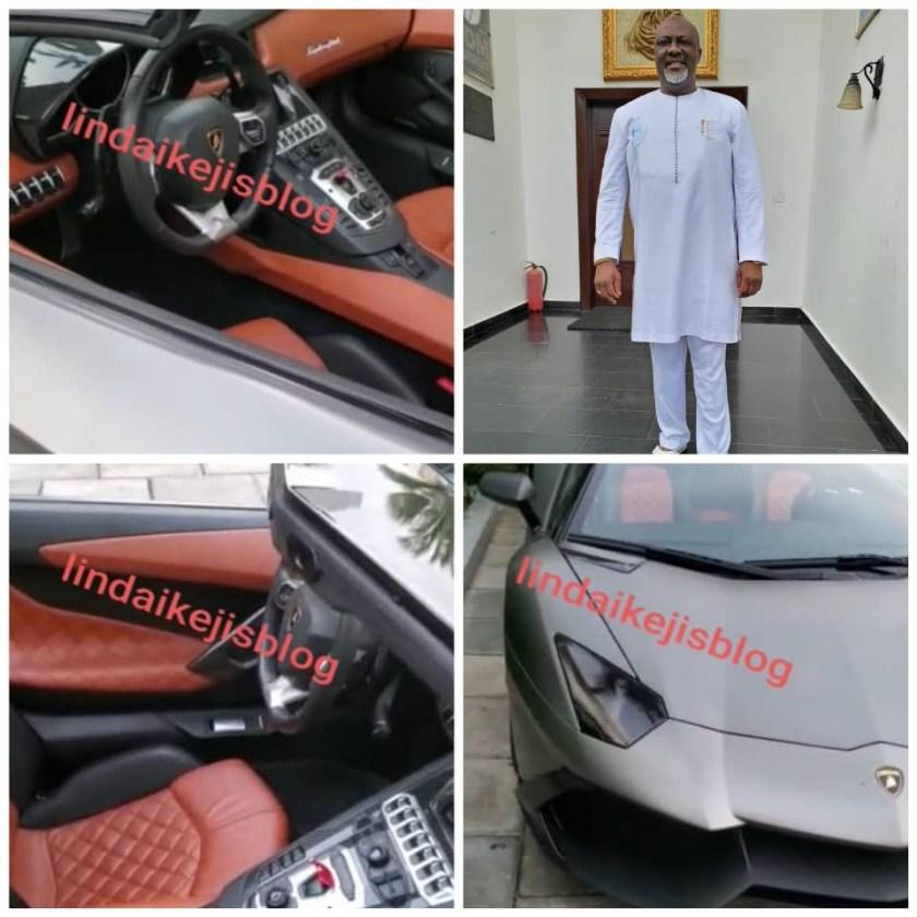 Dino Melaye acquires $1million Lamborghini Aventandor Roadstar convertible (video)