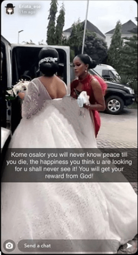 AIT presenter, Kome Osalor threatens lawsuit after Actress Eriata Ese and others accused her of killing her friend who was proposed to with 3 rings