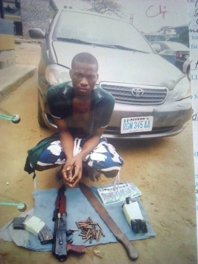 Rivers court remands 23-year- old man for car snatching, possession of AK47