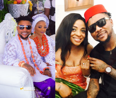 Singer, Oritsefemi, tenders public apology to his wife, Nabilla: asks people to help him beg her!