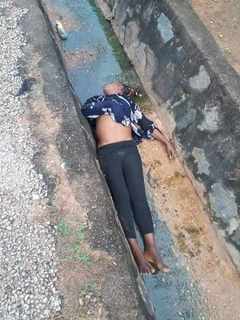 Corpse of a woman found dumped inside drainage in Benue