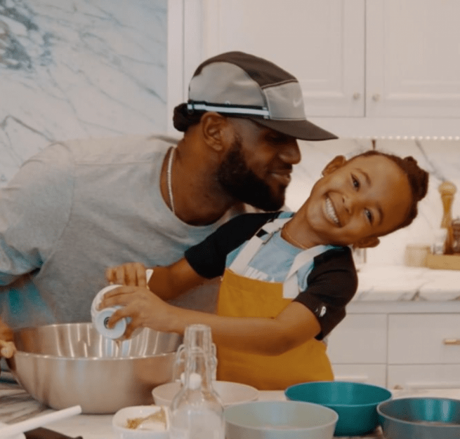 LeBron James builds his daughter a mini version of his mansion for her 6th birthday