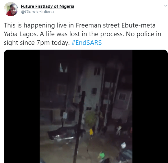 One person reportedly dead and several cars destroyed as cultists clash in Ebutte Metta (photos/video)