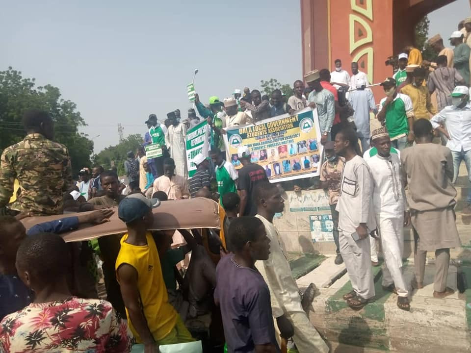 Pro-SARS/SWAT protest holds in Kano (photos)