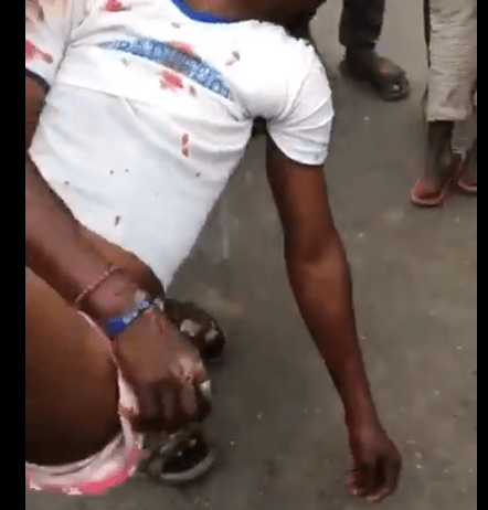Two feared killed, others injured as SUV rams into #EndSARS protesters in Lagos (graphic video)