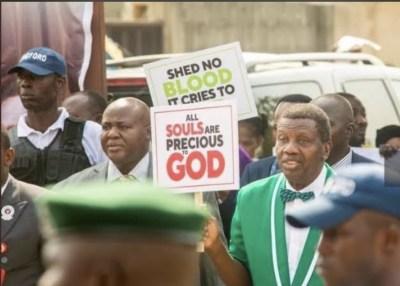 Pastor Adeboye Endorses End SARS Protests