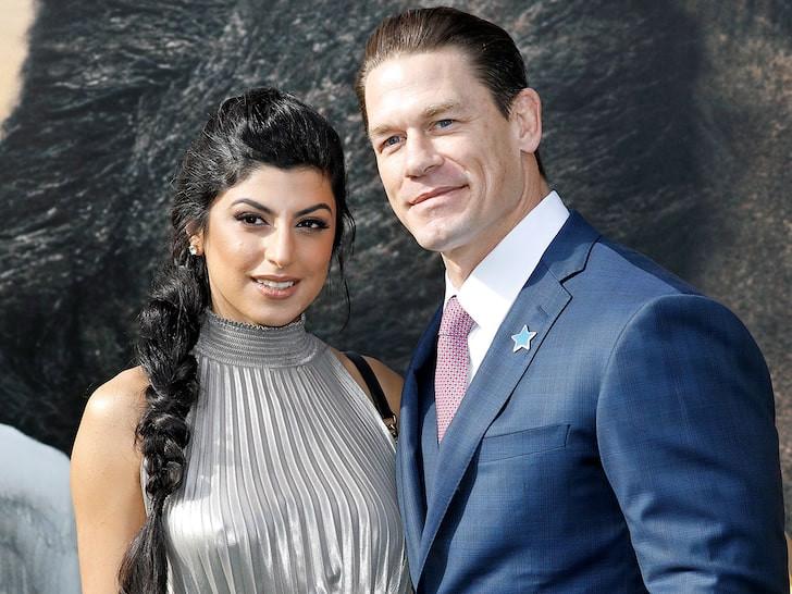 WWE star, John Cena marries girlfriend Shay Shariatzadeh in private ceremony
