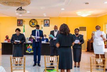 #EndSARS:  Governor Sanwo-Olu inaugurates 8-man Judicial panel to investigate SARS brutality (photos)