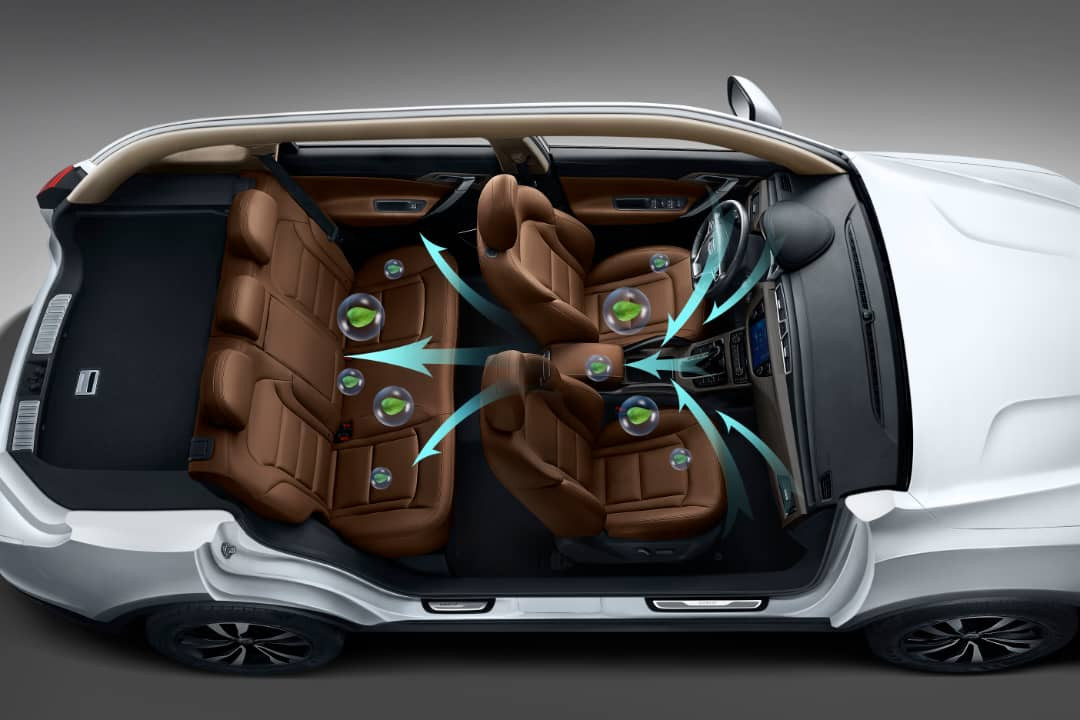 The First Healthy and Intelligent Car by Geely