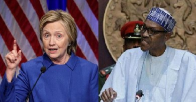 Buhari and Nigerian army should stop killing young Nigerian #EndSARS protesters – Hillary Clinton