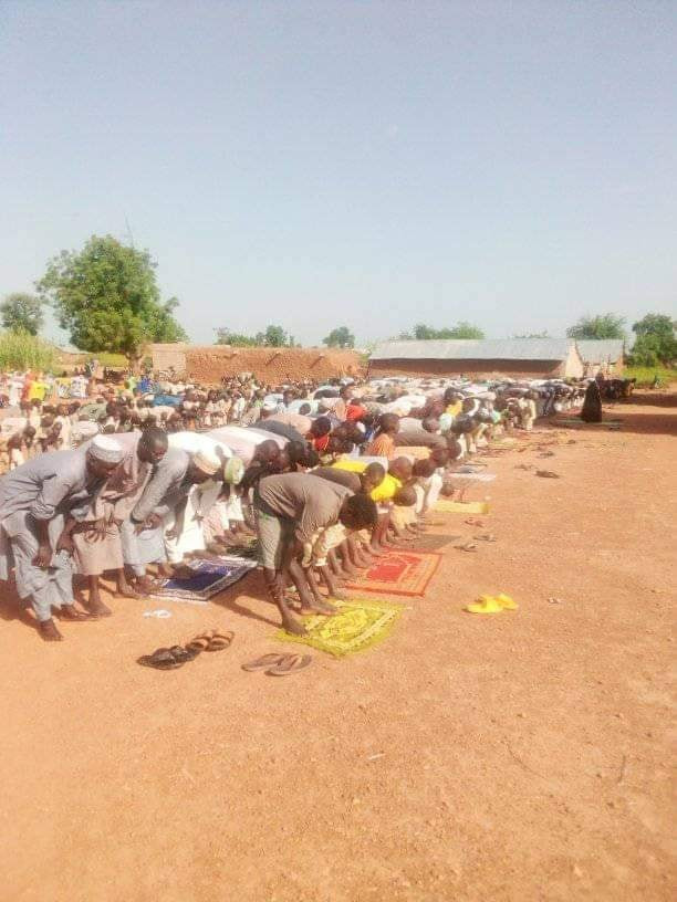 Photos: Residents of Zamfara communities pray over incessant bandit attacks and killings
