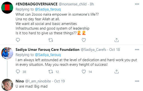 5f95bd01f2aab Nigerians react after Minister of Humanitarian Affairs announced plans to empower 700 women with N20,000 grant