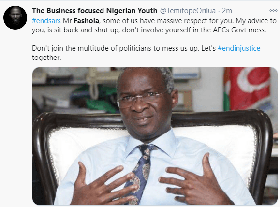 Funny reactions to Fashola's discovery of a secret camera at the Lekki tollgate 10