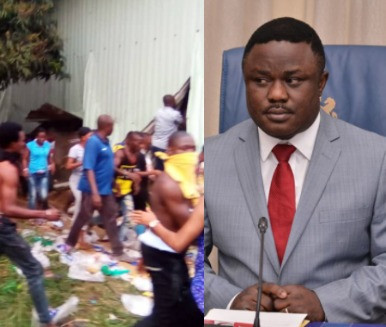 5f9672339219e Gov Ayade orders house to house search of looted items in Cross River state