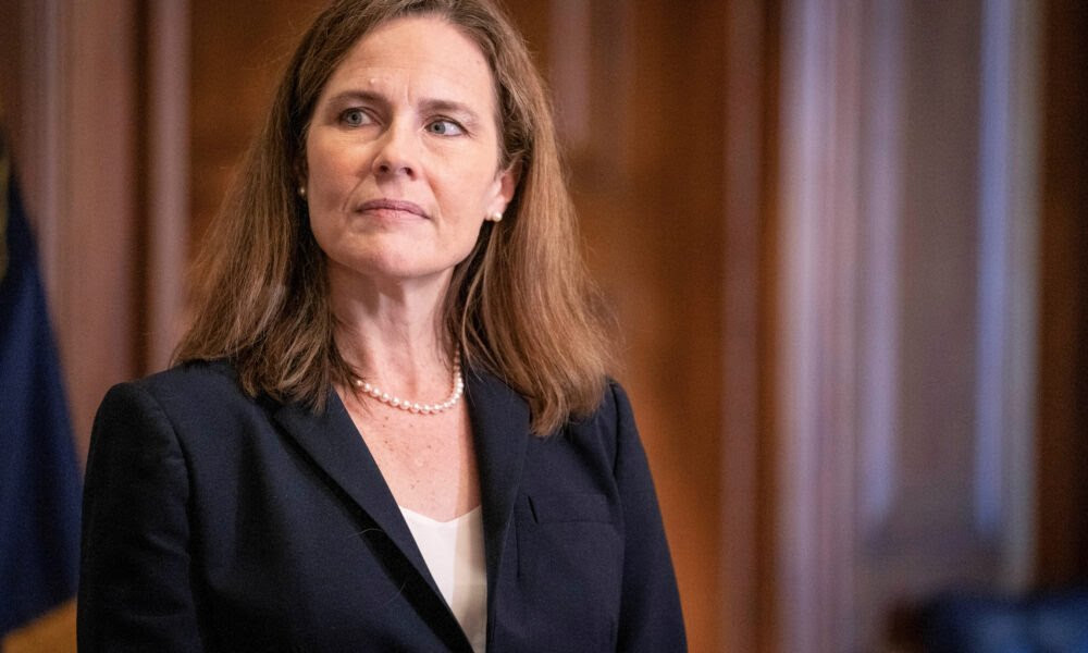 Victory lap for Donald Trump and Republicans as Amy Coney Barrett is finally confirmed as the new US Supreme Court Justice