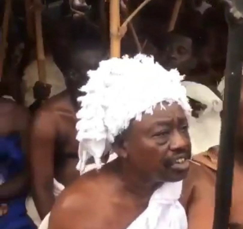 Ritual rites held at Isale Eko to welcome the Oba of Lagos and his staff of office to the palace (photos/videos)
