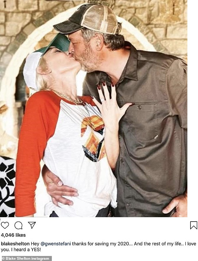 Gwen Stefani and Blake Shelton announce their engagement after 5-years of dating?