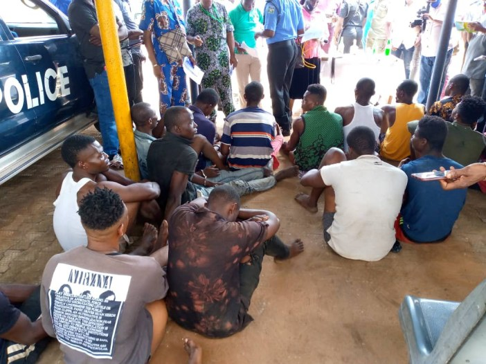 Hoodlums who hijacked #EndSARS protest killed four policemen, carted away rifles - Anambra Commissioner of Police, John Abang says