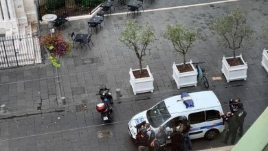 Two beheaded as three people die in 'terrorist' knife attack during morning mass at a Catholic church in Nice, France