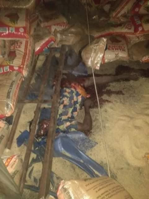 20 persons including children killed as trailer rams into market in Ondo state (photos/Video)