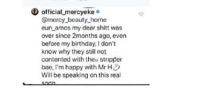 Mercy Eke flaunts her curves in new photos after confirming she