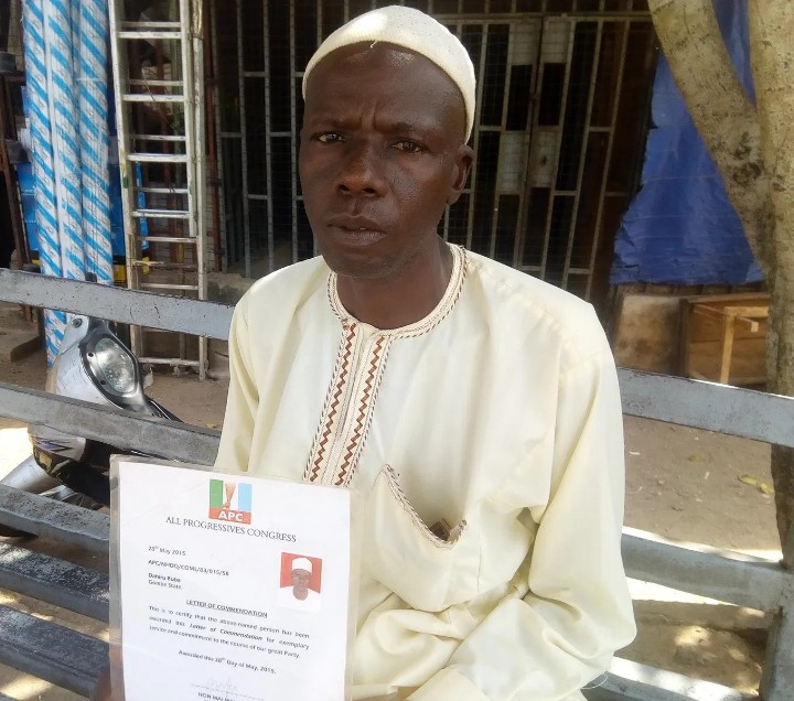 Since I conducted the trekking my limb pain has been growing by the day - Man who trekked for Buhari in 2015 seeks assistance for limb pains
