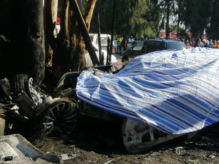 Zimbabwean socialite ?Genuis ?Ginimbi? Kadungure dies in fatal Rolls Royce crash (Photos/Video)