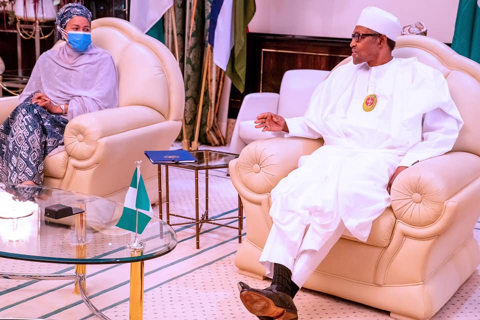 It?s in your interest to keep peace- President Buhari tells protesting youths