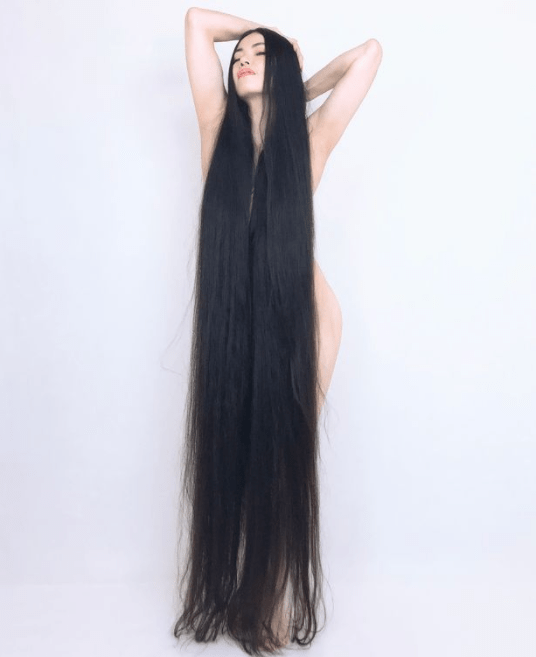 Real life Rapunzel trolled for 5ft 10in long hair she hasn