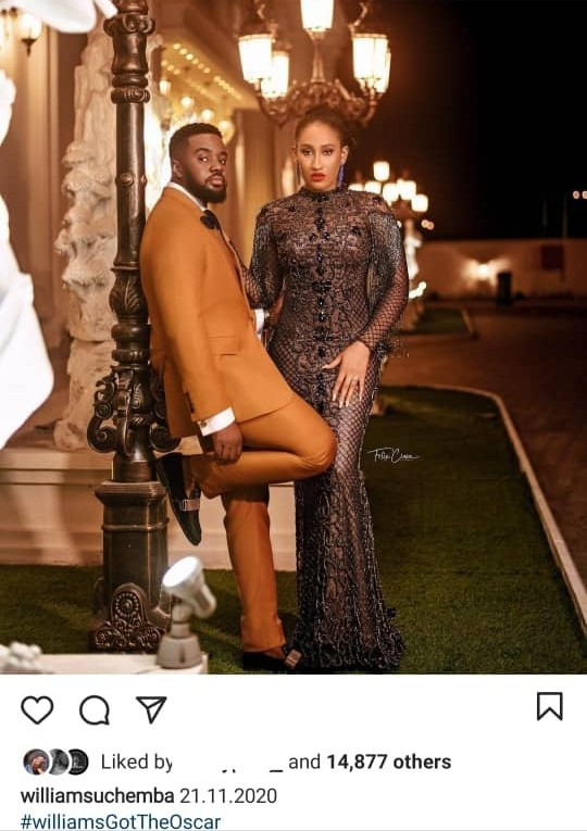 Williams Uchemba releases pre-wedding photos as he announces wedding date