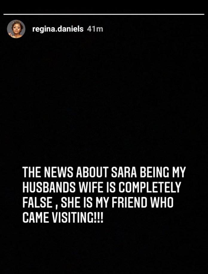 She is my friend not my husband