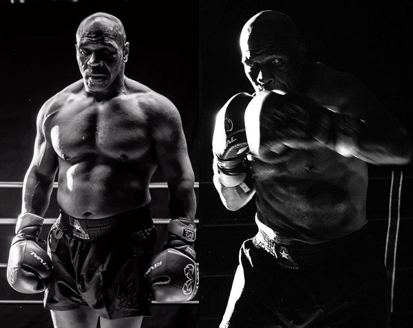 Boxing legend, Mike Tyson shows off his ripped body ahead of comeback fight with Roy Jones Jr (photos)